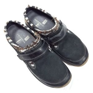 Merrell Encore Echo Ebony Slip On Clogs